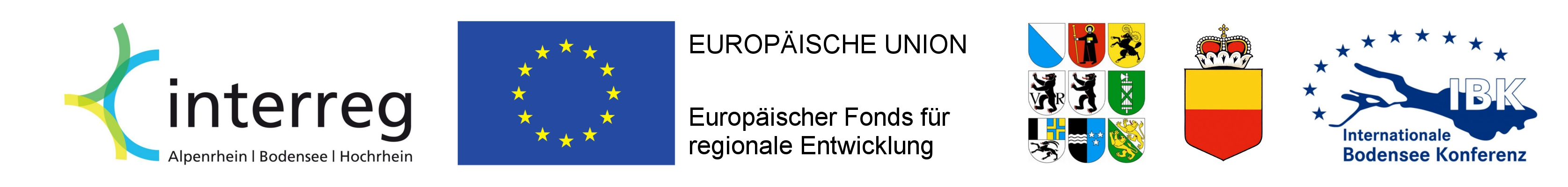 KPF2 - Leiste Interreg, EU, CH-Kantone, FL, IBK